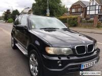 BMW X5 3.0d DIESEL M SPORT AUTO 4X4 [FACE-LIFT] 2003 [53] BLACK